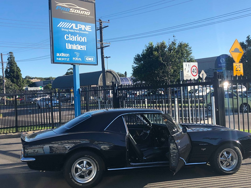 Chevrolet Camero Sound Upgrade - https://www.newcastleprosound.com.au/wp-content/uploads/2019/07/67374713_403906113574059_3294499435135893504_n.jpg