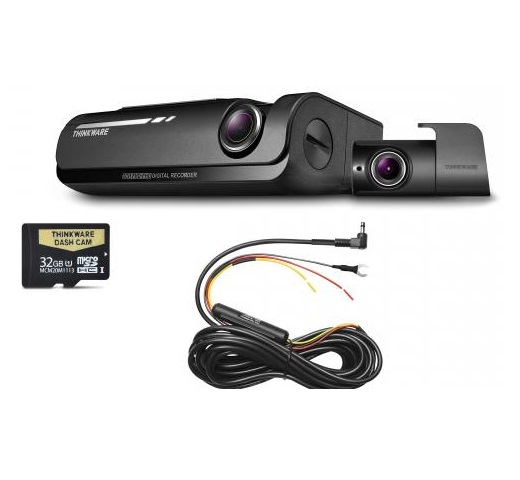 Thinkware F770D32 Front & Rear Dash Cam + Hardwire Kit -