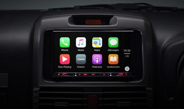 "Clarion VX807AU 7"" 2-DIN DVD Multimedia Station with Apple Carplay -"