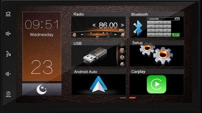 Mongoose Q7CA 7 Inch Multimedia unit with Android Auto and Apple CarPlay -