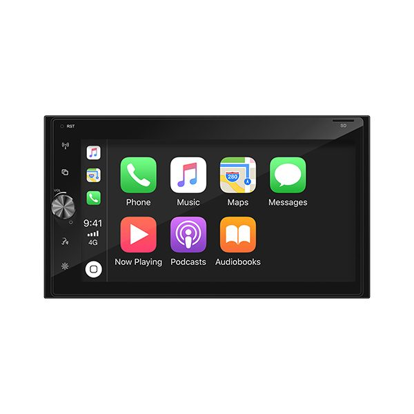 """Axis AX1870CP 6.8"""" Apple CarPlay/Android Auto Ready Mechless Multimedia System -"""