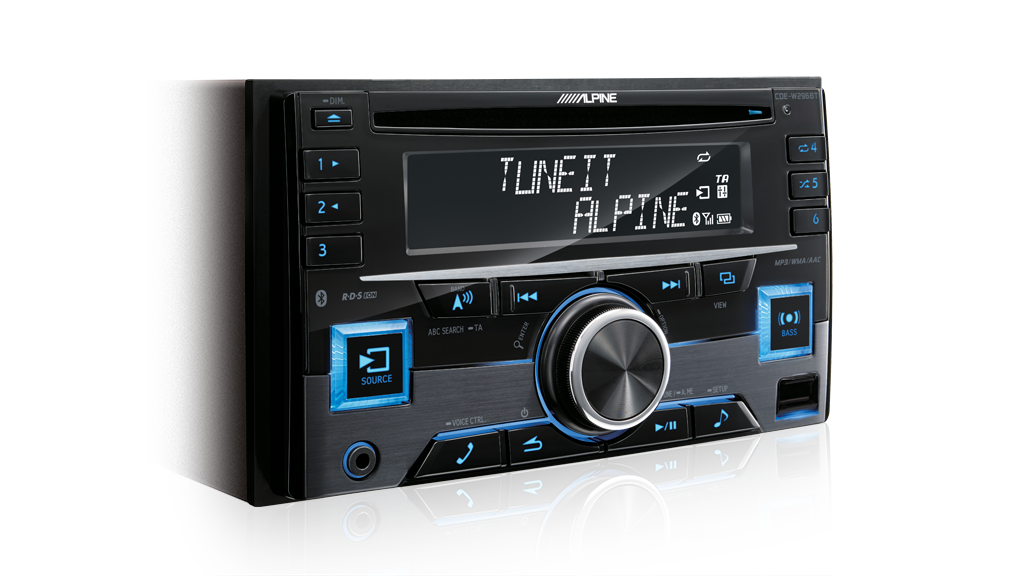 Alpine CDE-W296BT SINGLE DIN CD/BLUETOOTH -
