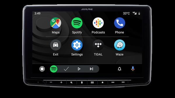 Alpine iLX-F309E HALO9 Apple CarPlay Android Auto DAB+ Bluetooth Head Unit -