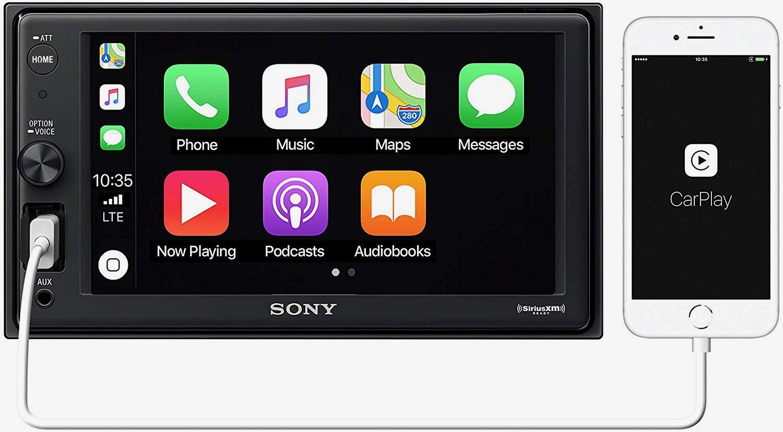 Sony XAV-AX1000 Apple Carplay Head Unit -