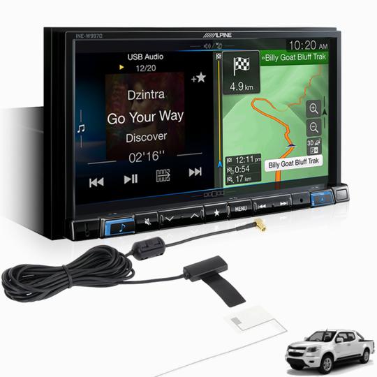 Alpine COLO15-W997D Premium Infotainment System for Holden Colorado -