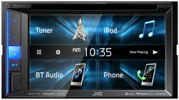JVC KW-V250BT BLUETOOTH/DVD/USB CAR MULTIMEDIA -
