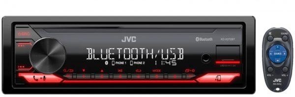 JVC KD-X272BT SINGLE DIN MECHLESS UNIT -