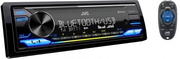 JVC KD-X472BT SINGLE DIN MECHLESS UNIT -
