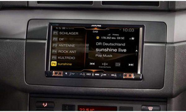 "Alpine ILX-702E46 7"" Mobile Media System for BMW 3-Series -"