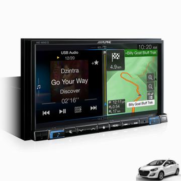 """Alpine I302012-W997D 7"""" SOLUTION FOR HYUNDAI I30 -"""