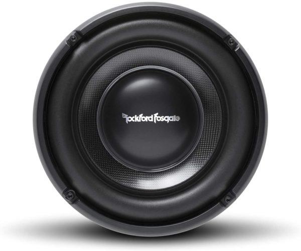 "Rockford Fosgate Power 10"" T1 Slim Single 1-Ohm Subwoofer T1S1-10 -"