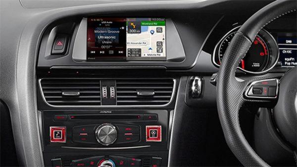 Alpine A4-X208 Alpine Premium Infotainment System for Audi A4 -