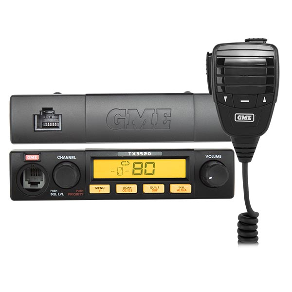 GME TX3520S Land Communications Fixed Mount Radio -