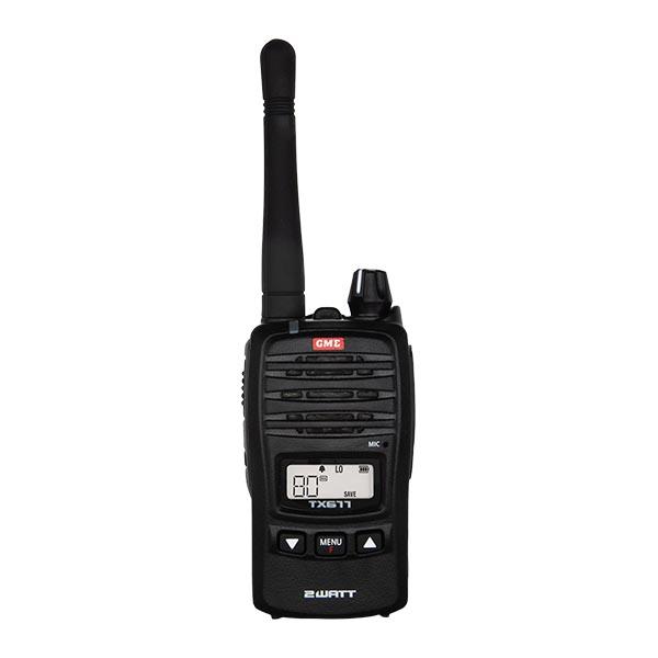 GME TX677 Land Communications Handheld Radio -
