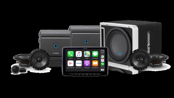 Alpine iLX-F309E Audio Bundle -