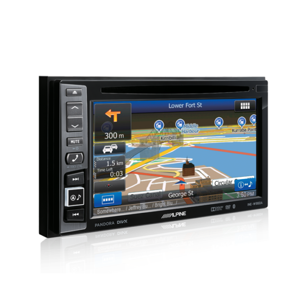 Alpine FOCUS11-W960 6.1″ DVD / USB / MP3 / WMA / AAC / DIVX / Bluetooth / Navigation Station For Ford Focus 2011 -