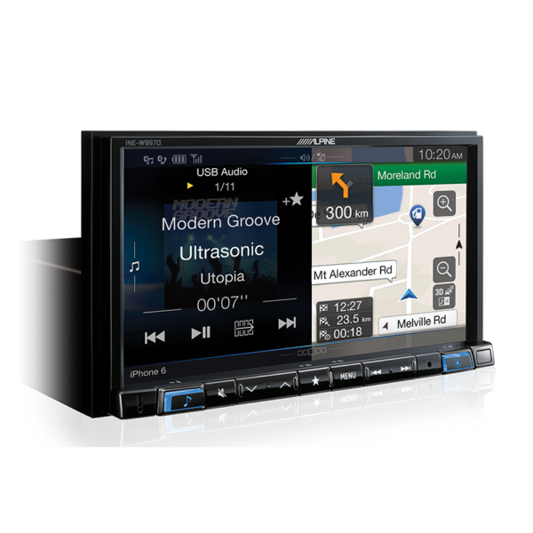 Alpine MONDEO-W997D 7″ DAB+ / RDS / HDMI / FLAC / USB / Bluetooth / Primo 3.0 Navigation for Ford Mondeo -