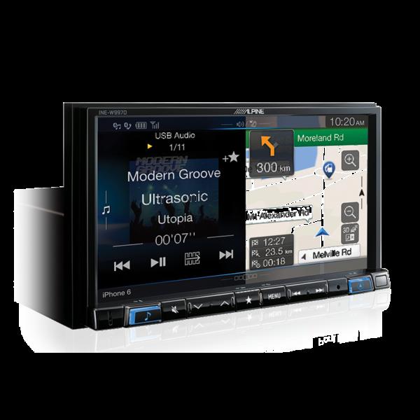 Alpine Peugeot B308RCZ-W997D 7″ Premium Naviagation Multimedia Station to suit the Peugeot RCZ -