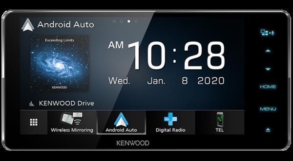 Kenwood DDX920WDABS 6.8 Inch HD Screen Android Auto Wireless CarPlay DAB DVD 200mm Head Unit -