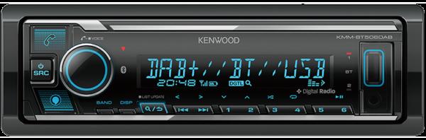 Kenwood KMM-BT506DAB SINGLE DIN MECHLESS UNIT -
