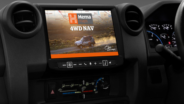 """Alpine LC70-X902D 9"""" Infotainment Navigation System with Hema suitable for Toyota LandCruiser -"""