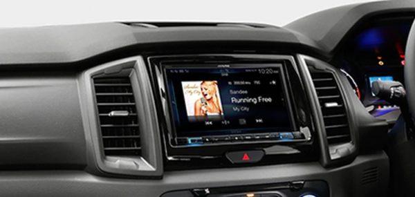 """Alpine RANGER16-X208 8"""" Premium Navigation System for Ford Ranger -"""