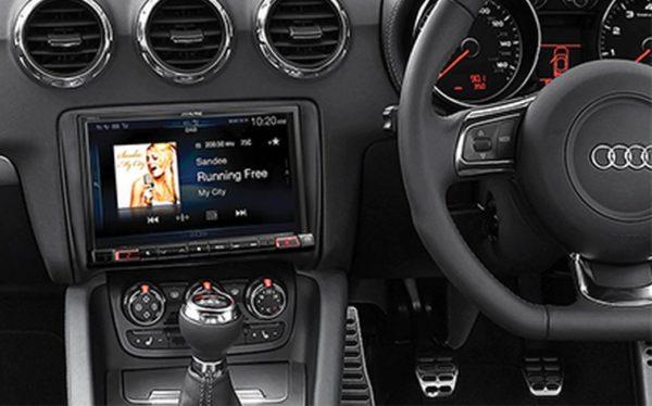 Alpine TT-W997D Premium Infotainment System for Audi TT -