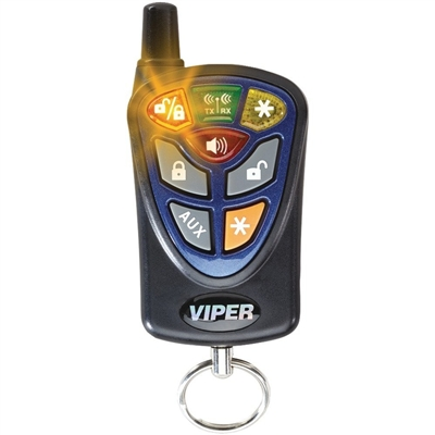 VIPER 488V 4-Button 2-way LED CAR SECURITY REMOTE -