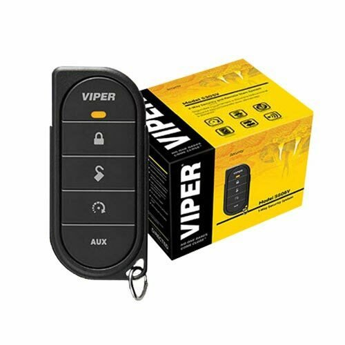 VIPER 5606VR 1-Way Security + Remote Start System -