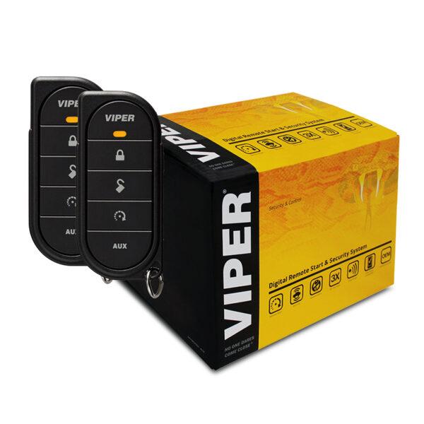VIPER 5610V 1-Way Digital Remote Start & Security -