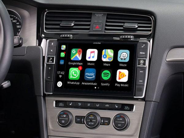 """Alpine i902D-G7 9"""" Mobile Media System for Volkswagen Golf -"""