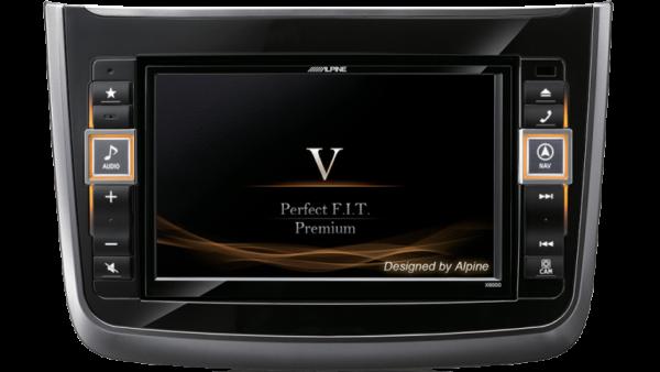 Alpine X800D-V 8″ DAB+/DVD/USB/HDMI/Bluetooth Advanced Navi Station for Mercedes Vito -