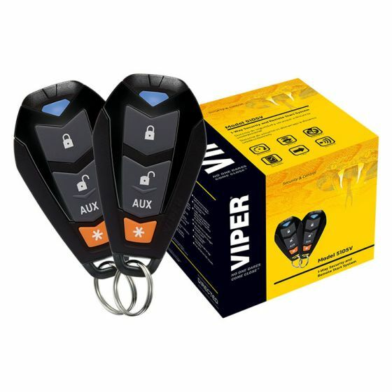 VIPER 5105VR 1-Way Security and Remote Start System -