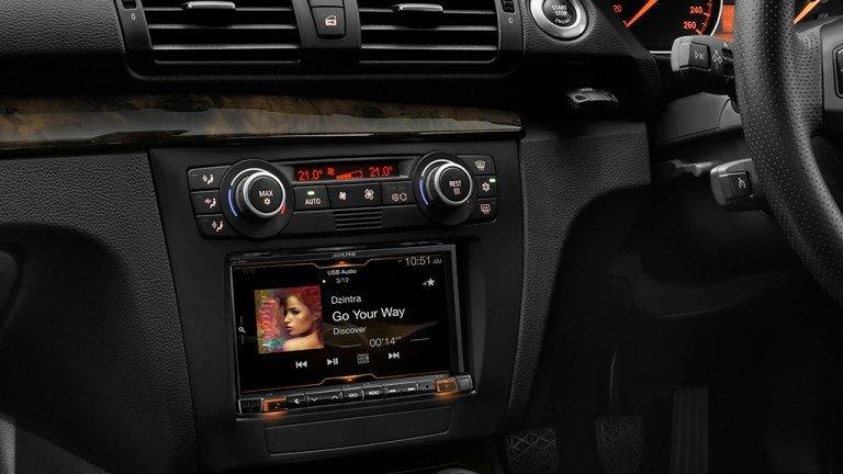 Alpine BM1M-702D Car Solution Apple CarPlay Android Auto Bluetooth for BMW 1 Series -