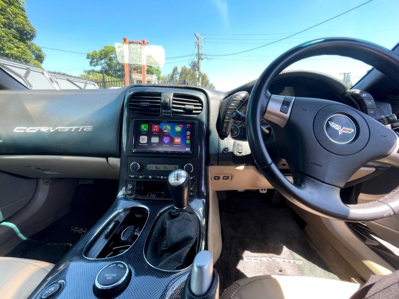 Corvette Apple CarPlay and Android Auto Upgrade - https://www.newcastleprosound.com.au/wp-content/uploads/2021/02/corvette.jpg
