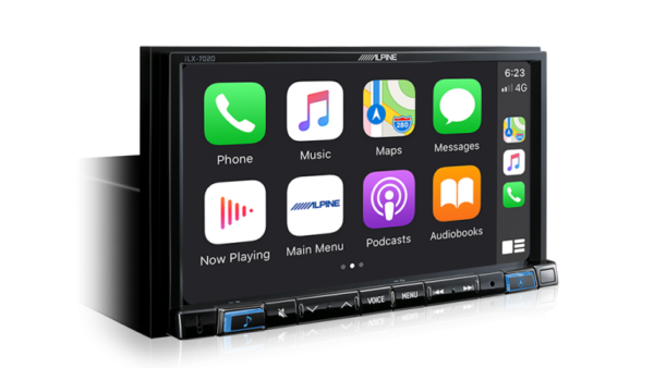 """Alpine CRUZE-702D 7"""" Apple CarPlay / Android Auto / HDMI / USB / Bluetooth /FLAC / DAB+ Receiver for HOLDEN -"""