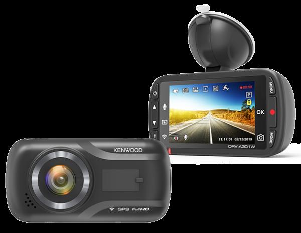 kenwood DRV-A301W Front & Rear Camera -