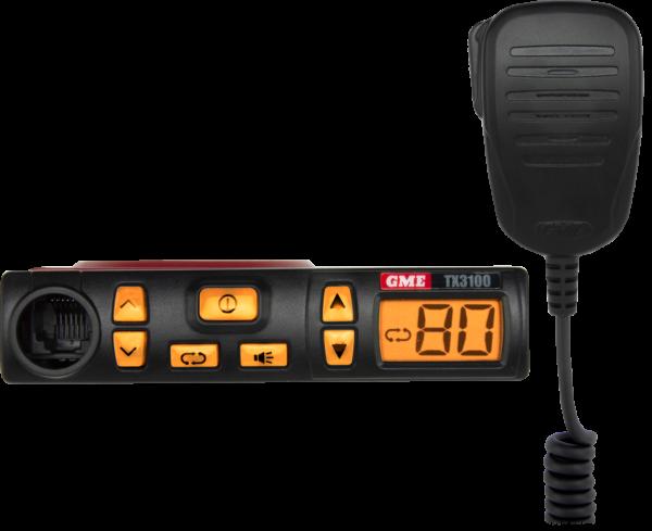 GME TX3100DP Land Communications Fixed Mount Radio -