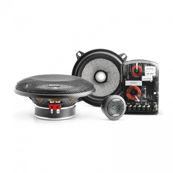 FOCAL 130 AS 5″ 2-WAY Car Audio Bundle -