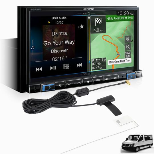 Alpine SPRINTER-W997D Premium System for Mercedes-Benz Sprinter -