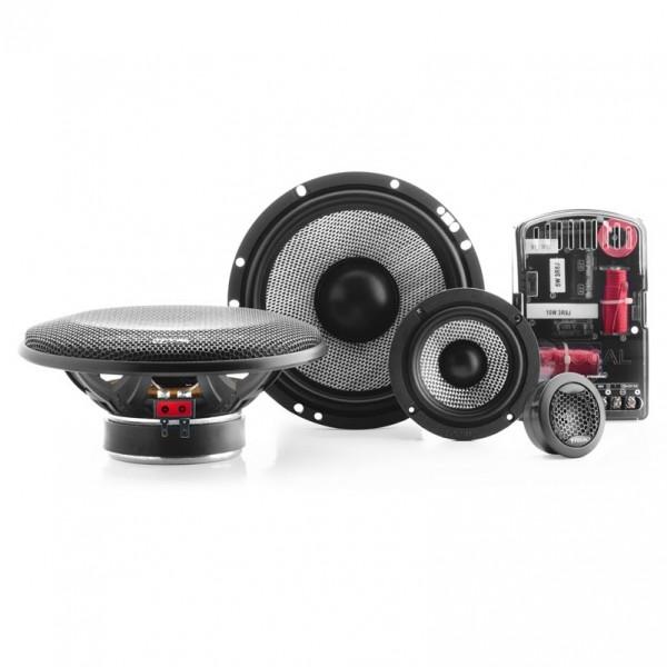FOCAL 165 AS3 6.5″ 3-WAY KIT Car Audio Bundle -
