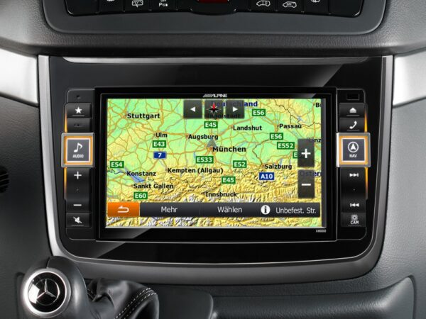 Alpine MERC-X800D-V Advanced Navigation, Alpine Style Product for Mercedes -