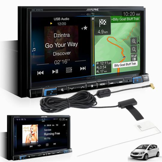 Alpine MERC-W997D Premium System for Mercedes-Benz -