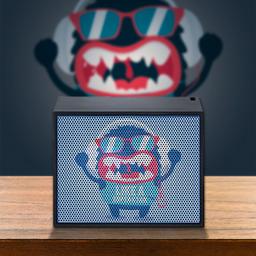 HiFiHQ Mac Audio BT Style 1000 Monster Bookshelf Speaker -