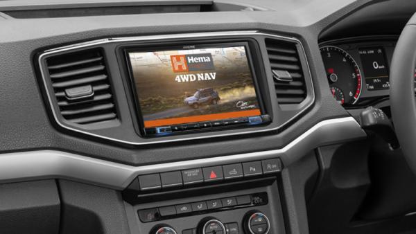 Alpine VOLKSWAGEN TRANSPORTER VW-BKT-X802D 8″ infotainment system -