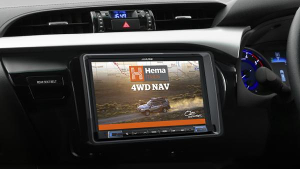 "Alpine Toyota HILUX-X802D 8"" Apple CarPlay / Android Auto Car Audio System -"