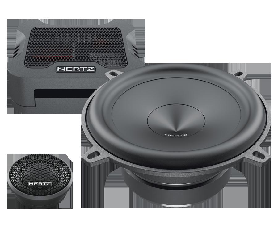 HERTZ MPK130.3 Car Audio Bundle -