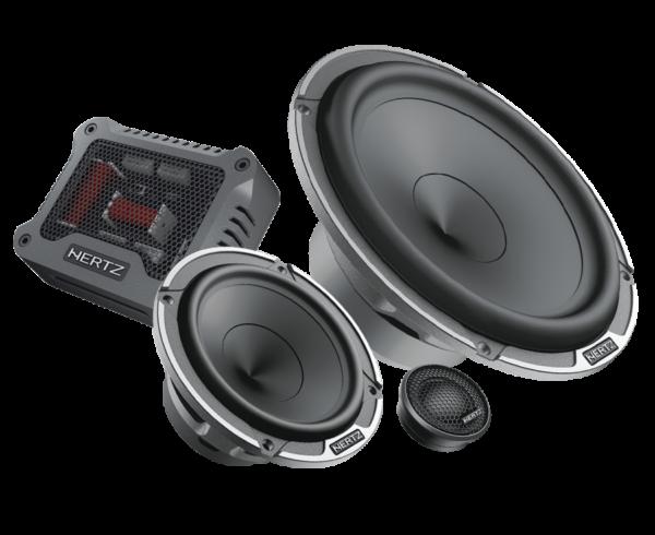 HERTZ MPK163.3 Car Audio Bundle -