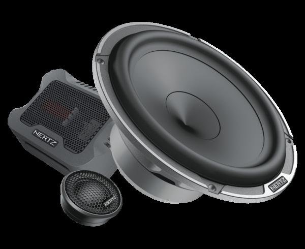 HERTZ MPK165.3 Car Audio Bundle -