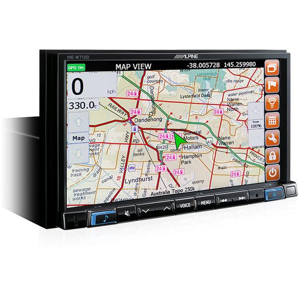 "Alpine PORSCHE-X208MB 8"" Apple CarPlay / Android Auto / Primo 3.0 Navigation / HEMA 4WD Maps / Bluetooth / DAB+ Receiver -"